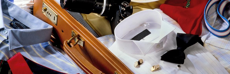 camicia in valigia
